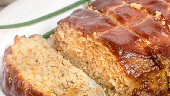 White Meatloaf | Twisted Tastes