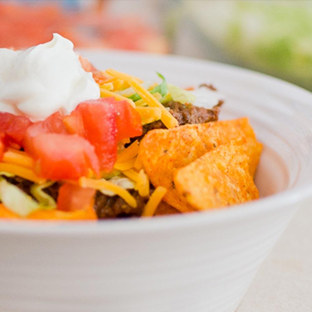 Easy Taco Salad | Twisted Tastes