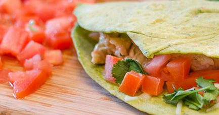 Lime Chicken Tacos   Twisted Tastes